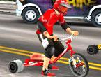 3 Tekerlekli Bisiklet Yarışı Oyunu
