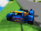 Lego Araba Yarışı Oyunu